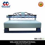 De hete CNC van het multi-Hoofd van de Verkoop Houten CNC van de Router Machine van de Gravure voor het Maken van de Deur (vct-2530w-8H)