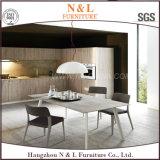 Gabinete de cozinha de madeira da mobília Home luxuosa de Morden