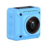 組み込みのWiFiの二重レンズ4k 360dの屋外の水中カメラ
