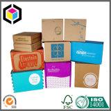 Carton d'expédition d'emballage de papier ondulé d'impression de couleur d'e cannelure