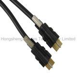 Heiße verkaufende Sperren HDMI Kabel V2.0 V1.4 Unterstützt 3D 4k 2160p
