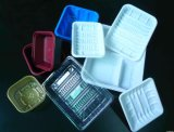 Recipiente takeout ambiental descartável biodegradável plástico da caixa de almoço do recipiente de alimento