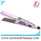 Hierro plano de la venta del pelo ancho profesional caliente de la placa con la función impermeable