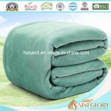 Manta de lã de flanela de fibra de poliéster e microfibra