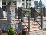 Frontière de sécurité ornementale enduite de Ce/SGS Interpon pour le jardin, le paquet et le balcon