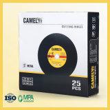 Большой режущий диск размера с черной бумажной задней стороной