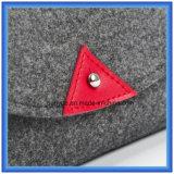 Modificado para requisitos particulares hacer el pequeño bolso de mano ocasional sentido las lanas del almacenaje, bolso del cosmético de la dimensión de una variable del sobre del regalo de la promoción