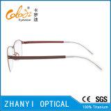 Blocco per grafici di titanio di vetro ottici di Eyewear del monocolo del Pieno-Blocco per grafici leggero variopinto (9107)