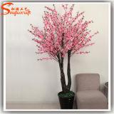 Вал цветения искусственного завода украшения гостиницы крытый розовый
