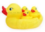 Logotipo do OEM Vário brinquedo de plástico do banho de borracha para promoção