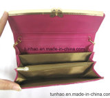Sacchetto Chain della frizione dell'unità di elaborazione di brevetto della farfalla del metallo del blocco per grafici delle donne di cuoio della decorazione