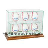 Fabbrica acrilica di vendita calda di Shenzhen di caso di visualizzazione di baseball