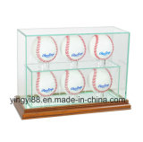 Usine acrylique de vente chaude de Shenzhen de cas d'exposition de base-ball