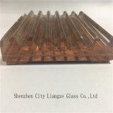 Vidro laminado de vidro impresso seda/vidro vidro Tempered/segurança para a decoração