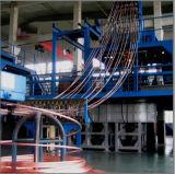De stijgende Machine van het Ononderbroken Afgietsel voor Staaf van het Koper van de Zuurstof de Vrije