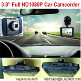 Hot 3.0inch Zinc Alloy Car Black Box no Dash Car DVR com Novatek96650 Chipset, 5.0mega Ar0330 CMOS Car Camera, Detecção de Movimento, Mobile DVR 3009