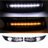 Het voor LEIDENE Dag Lopende Lichte Traliewerk van de Mistlamp voor VW voor Volkswagen Passat B6