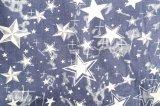 星パターン印刷された100%Cotton 4oz Deminファブリック