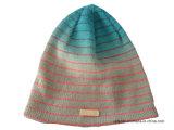 Шлема Beanie жаккарда шлема зимы шлем шлема POM Knit акрилового изготовленный на заказ связанный POM