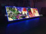 Visualizzazione di LED parteggiata impermeabile esterna di potere basso doppia P10mm