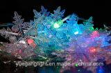 Ce&RoHSは装飾のための雪片が付いているBoの軽鎖を承認した