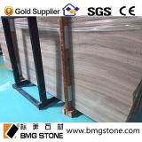 Lajes de mármore de madeira brancas novas 2cm