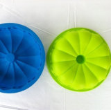 Blumen-Form-Silikon-Kuchen-Form