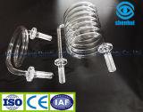 Tubo de cristal espiral de cuarzo de la alta calidad