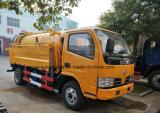 Nuevo carro del tanque de agua del carro de la succión de las aguas residuales del diseño 3000L para la venta