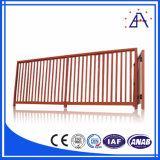 Cerca de aluminio horizontal de la alta calidad