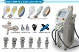 入れ墨の毛の取り外しおよびスキンケアのためのElight/IPL+ Shr+ ND YAGレーザー+RFの美容院装置