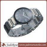 Lady reloj de pulsera de cerámica con vidrio mineral