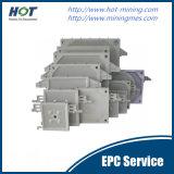 Одноцелевая автоматическая плита давления фильтра мембраны PP гидровлическая