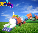 Spel van de de worm het Opblaasbare Tunnel van het fruit voor Kinderen