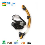 Alta Qualidade Atacado Silicone PVC Glass Lens Diving Mask Driving Snorkel Junior Set