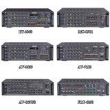 Canaletas múltiplas do standard alto 120 watts 4 do karaoke ohms de amplificador da música