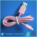 Qualité USB micro diplômée par UL chargeant rapidement le câble de caractéristiques