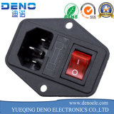 El panel nos monta socket industrial femenino del socket eléctrico del socket de potencia del enchufe