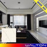 Fußboden-Fliese des Carrara-weißer Marmortintenstrahl Vitrified Porzellan-600X600
