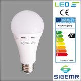 Bulbos recargables de calidad superior de la sigma 6W 9W LED