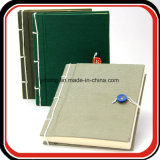 Libro di tela del giornale del taccuino del coperchio di stile cucito libri antichi