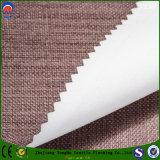 Tela impermeável tecida do escurecimento do revestimento do franco da tela do poliéster para a cortina e a tampa da cadeira