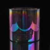 De kleurrijke Levering voor doorverkoop van de Container van het Glas van de Kruiken van de Kaars