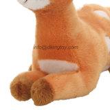 En71 질 귀여운 더럽혀진 채워진 견면 벨벳 동물성 장난감 사슴