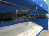 Tagliatrice idraulica della lamina di metallo di QC12k Nc per il piatto dello strato di taglio