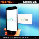 biglietto da visita scrivibile di 13.56MHz NFC per Vcard