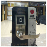 Einzelne Verriegelungs-Keyless Tastaturblock-Fingerabdruck-Scanner-Tür-Verschluss