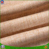 Tissu tissé ignifuge imperméable à l'eau de rideau en arrêt total de polyester de textile à la maison