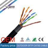 Cable de Ethernet al aire libre protegido ULTRAVIOLETA al por mayor de Sipu UTP Cat5e/CAT6