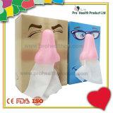 Caja de papel 3D encargo del tejido facial (PH4608)
